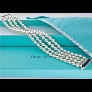 Authentic Tiffany & Co. Ziegfeld Pearl Bracelet
